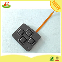 Silicon rubber keypad and keyboard/PCB membrane switch