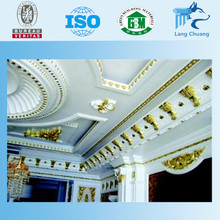 2016 For Home Decor Hot Sale Artistic Decorative Gypsum Plaster Cornice Gypsum Moldings