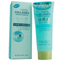 Face use skin care 100% collagen extract essence exfoliating cream facial cleanser