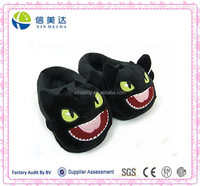 How to Train your Dragon Toothless Black Plush Slippers