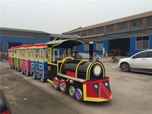 latest model automotive trackless train for children high quality