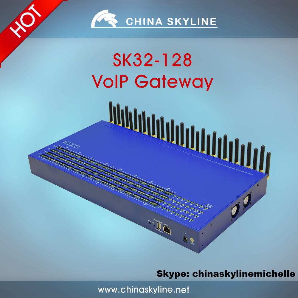 Wholesale 16,32,64 ports VoIP gsm cdma from GSM to SIP