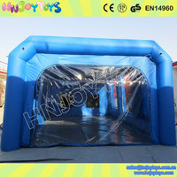 Low Price Inflatable Paint Tent Rental,Auto Car Garage Booth