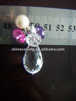 color acrylic bead charms, multi-function charm accessories for lamp, bag, beauty items
