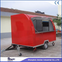 2017 hot sales best quality New model mobile BBQ food cart for sale fast BBQ food cart renting big BBQ food cart designing