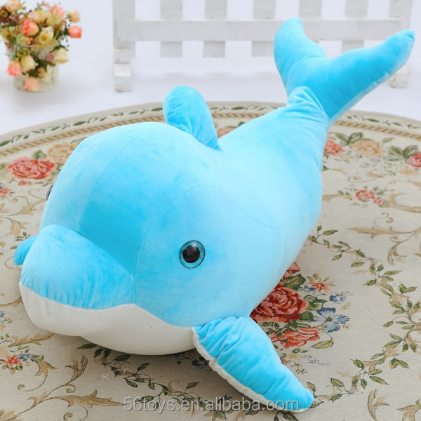 japanese wholesale toys ocean blue capybara plush stuffed animal toy