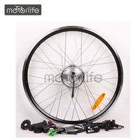 "26"" 36V250W front Disc brake electric bicycle conversion kits"