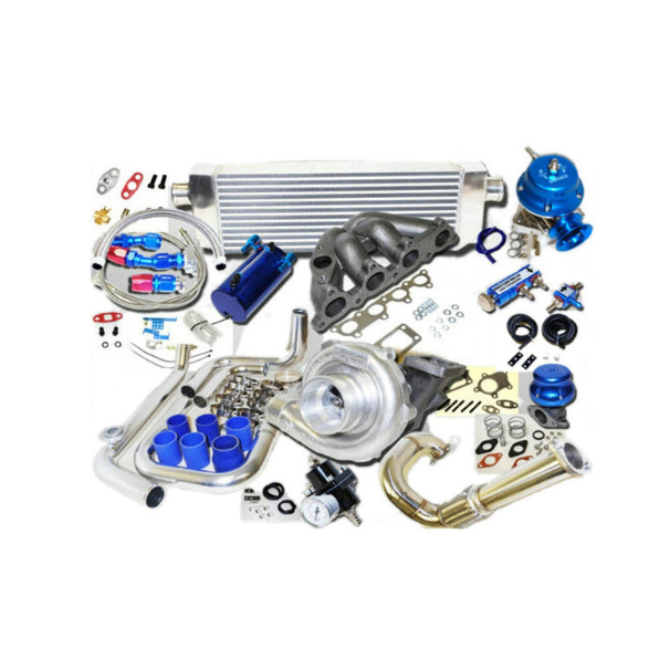 Wholesale fit For <strong>Honda</strong> <strong>Civic</strong> Complete Turbo Kits D Series EX/Si 1.6L SOHC VTEC I-4 125HP D16Z6