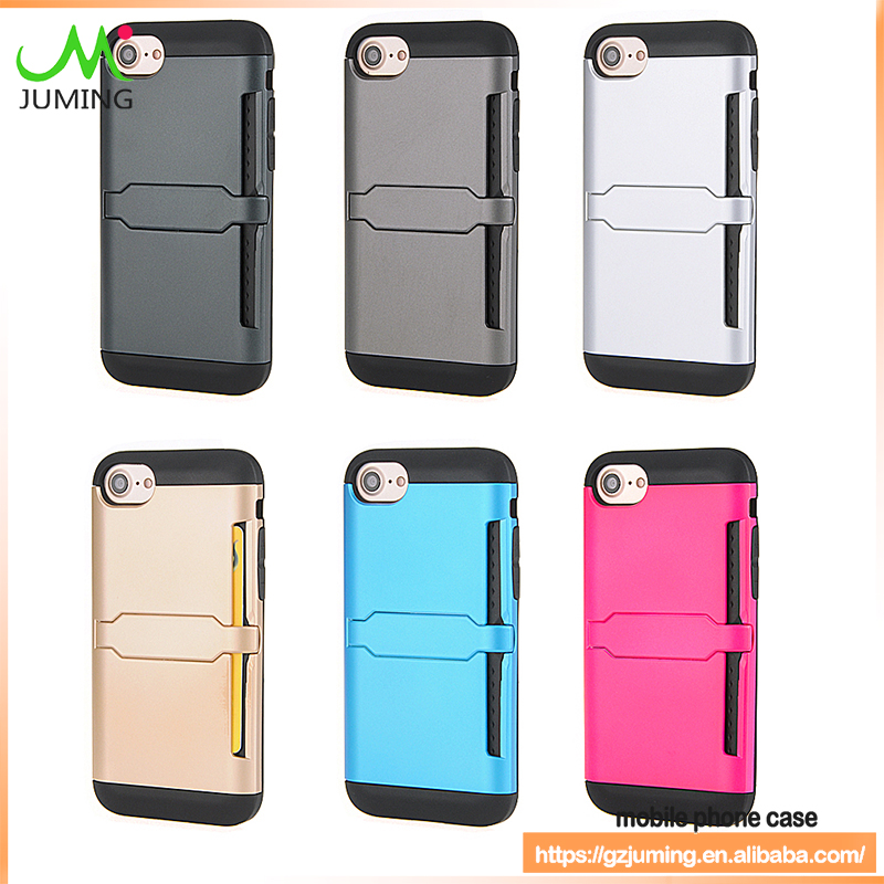 with credit card cash holder wallet case for samsung for iphone accesorios para celulares mobile phone