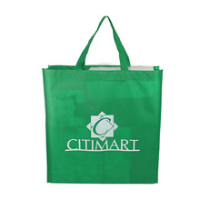 Recycled reusable nonwoven 90gsm shopping bag wholesale