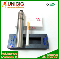 Vapro supply mini Mutation x V4 e electronics cigarette colored smoke cigarettes by Indulgence