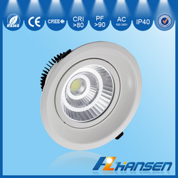 2016 New cob ceiling led light dimmable led driver with IP40