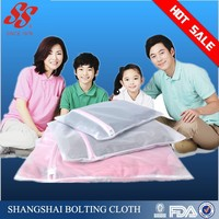 Bra Wash Laundry Portable Mesh Bag with Plastic Frame Construction
