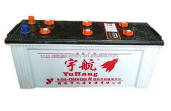 Bottom price hot selling dry volta car battery 6-QA-120 12v120AH