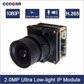 High quality 2.0MP star light real time double board module for wholesales