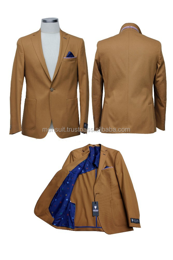Summer Collection 2015 - Leonardo Moda Men's Cotton Blazer