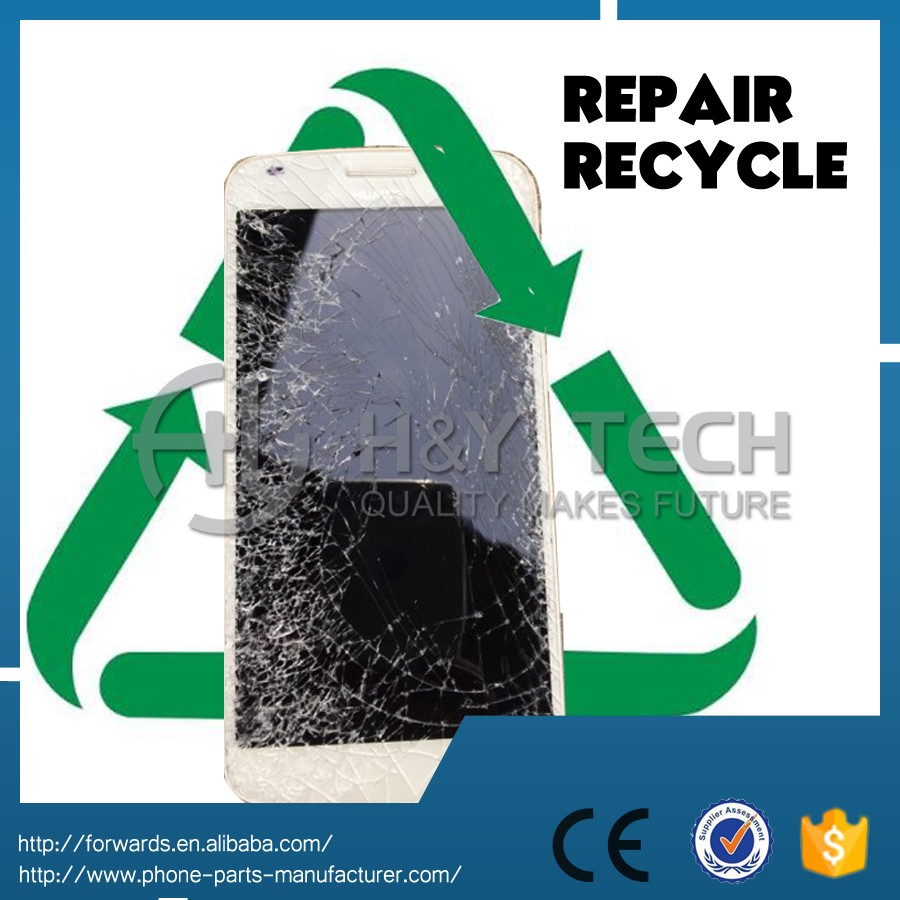 Repair cracked LCD Digitizer Display Touch Screen For Samsung Galaxy S8