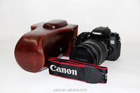 digital SLR vintage leather camera bag for Canon 600/760D