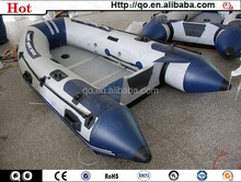 Promotion best desgin seastone aluminium floor inflatable boat