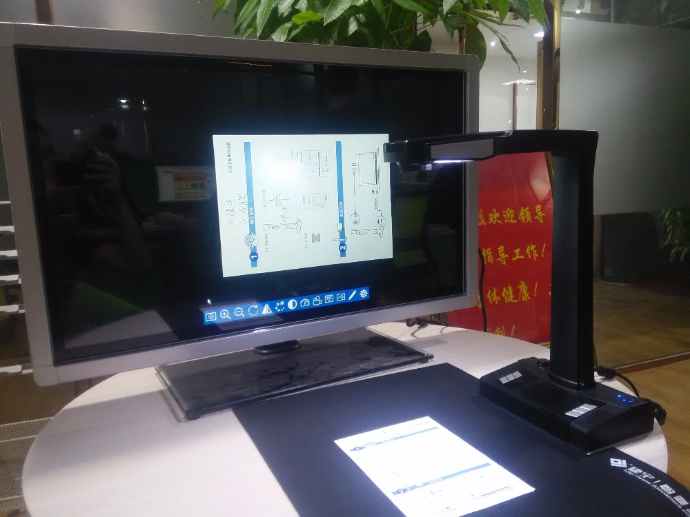 Rétractée 10 M 16 M A3 A4 livre scanner et réseau photo scanner