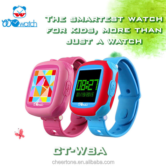 Kids Touch Screen Smart Watch Pedometer Watch with multilanguages and Calcualtor