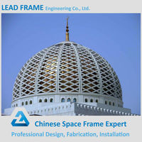Light Steel Structure Fiberglass Building Mosques Dome