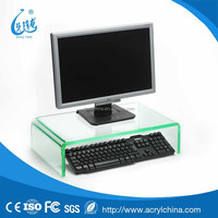 2015 custom acrylic computer display stand,U style display rack