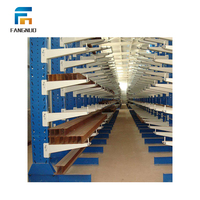 Fast supply speed steel plate storage rack system
