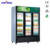 Refrigerated vertical beverage drink display cabinet