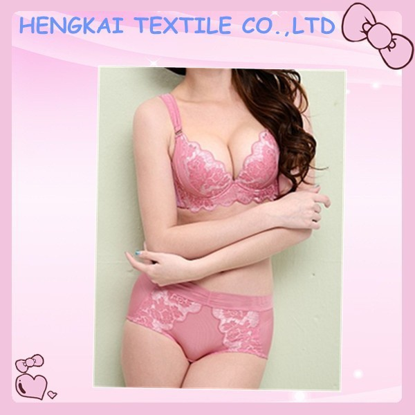 New design hot attractive wholesale ladies bra set