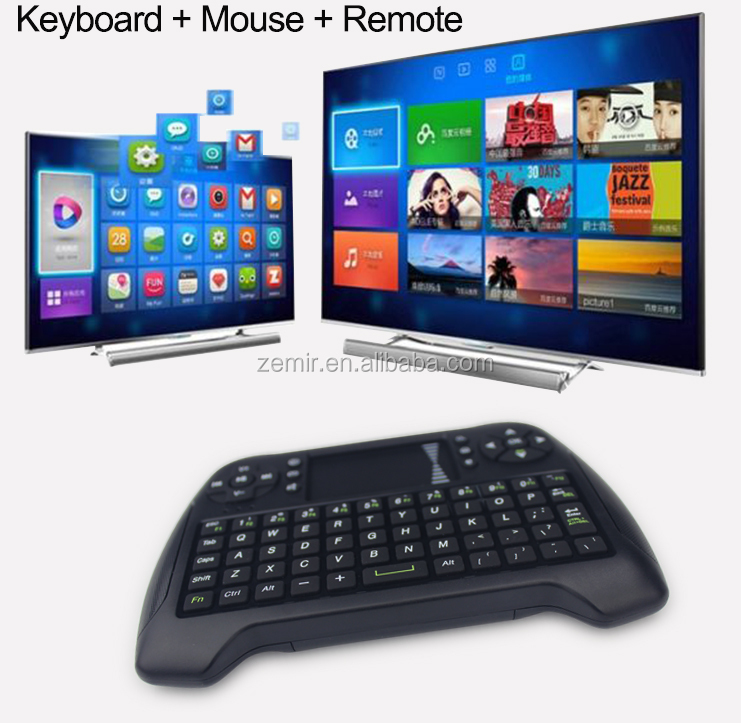 T16 Mini Keyboard 2.4G Wireless Air Mouse for android tv box tablet PC