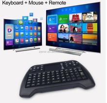 best selling T16 Mini Keyboard 2.4G Wireless Air Mouse for android tv box tablet PC
