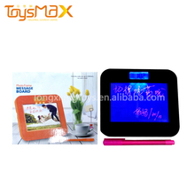 Fashionable Creative Message Board Recordable ALARM CLOCK