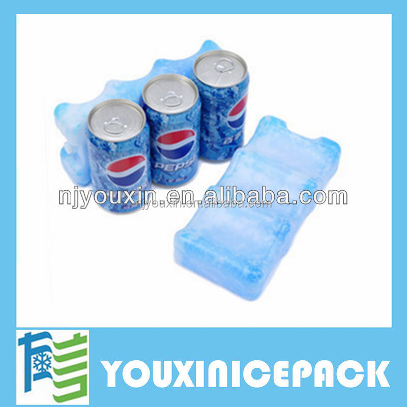 Reusable ice box freezer pack Cool Box for frozen food shipping
