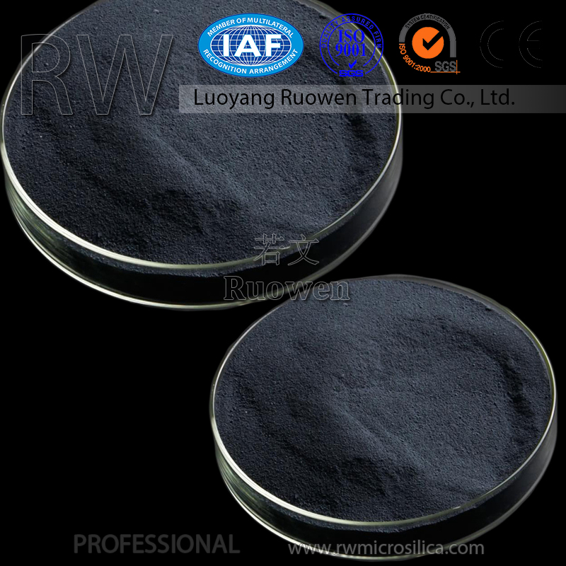 Supply small particle size micro silica fume for blast furnace portland cement price in russia