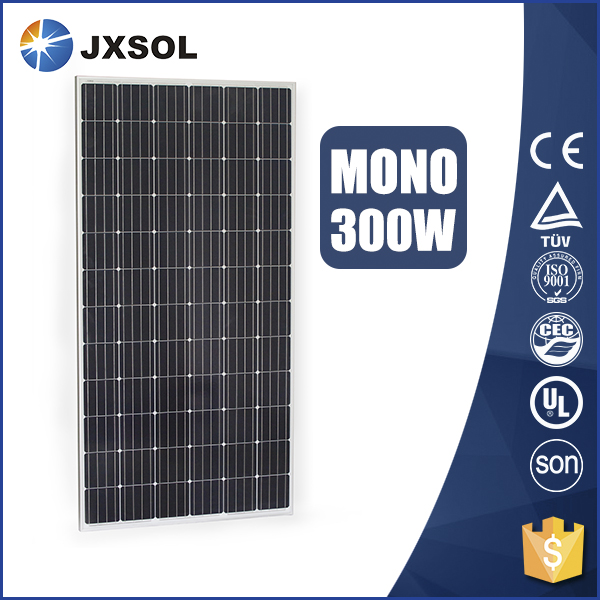 price per watt monocrystalline silicon solar panel 300w