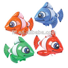 colorful inflatable fish/assorted inflatable animal fish toy for decoration