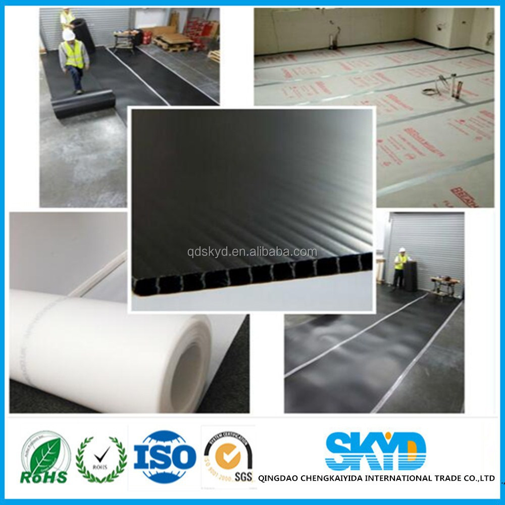 construction floor protection corrugated plastic sheet