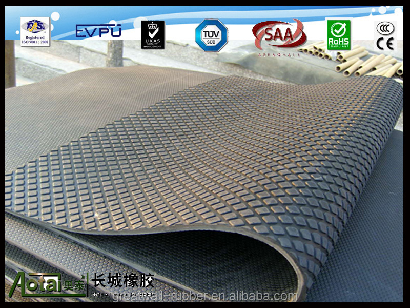 rubber flooring for cow /rubber flooring for horse