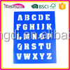 super style toy and game creative stencil Cartoon Stencils for Kid Craft