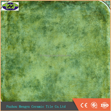 600*600 Acid-resistant bathroom ceramic tiles green color