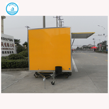 stainless steel scooter food cart commercial hot dog cart/bbq food cart for sale/mobile food cart with frozen yogurt machine