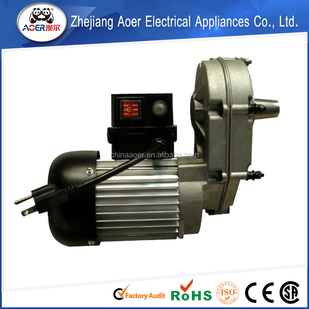 Single phase AC Motor speed reducer ac electric gear motor