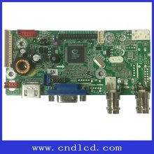 Hot Selling TV Board With 3D Video Decoding ( PAL / NTSC ),Brightness Separation,Spatial Noise Reduction Function