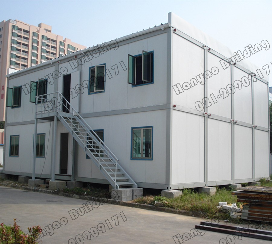 Green Energy Saving Cost Prefabricated Container House Type For Office Hege