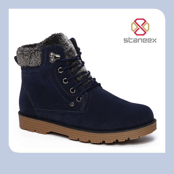 Winter Cotton Shoes Men's Shoes Lace Up 3 Colors Minimalist Style <strong>Boots</strong> Business Casule British Style <strong>Boots</strong>