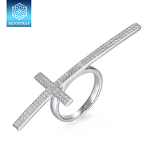 Silver Price 925 Per Gram Micro Pave Setting 925 Sterling Silver Jewelry Ring Wholesale
