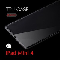 0.5mm Ultra Thin TPU Transparent Clear Protective Case for iPad mini 4