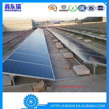 Anodized silver aluminum Solar Panel Frame