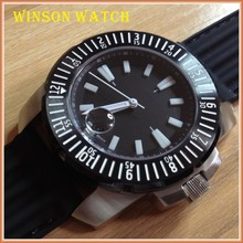 Super luminova dial . sapphire crystal. 20 ATM waterproof, rubber strap , Japan movement , Automatic watch